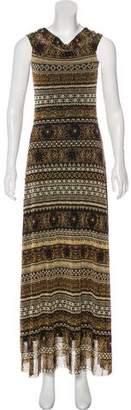 Fuzzi Maxi Sleeveless Dress