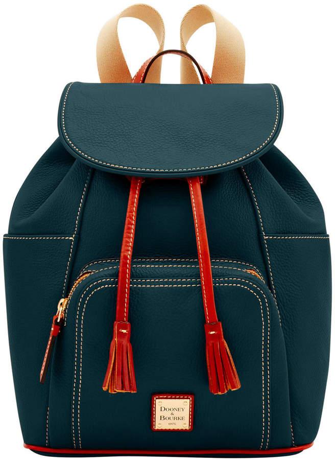 Dooney & Bourke Pebble Backpack - BLACK - STYLE