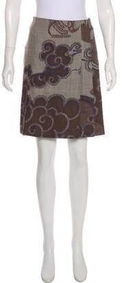 Emilio Pucci Knee-Length Wool Skirt