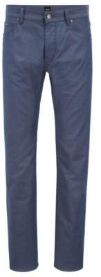 BOSS Hugo Regular-fit jeans in two-tone stretch denim 33/32 Open Blue