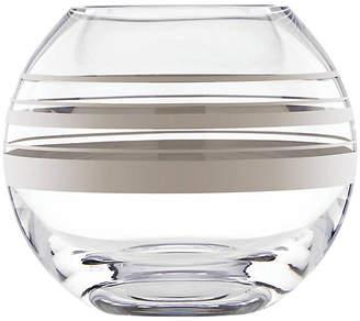 "Kate Spade 6"" Hampton Street Rosebowl Vase - Platinum"