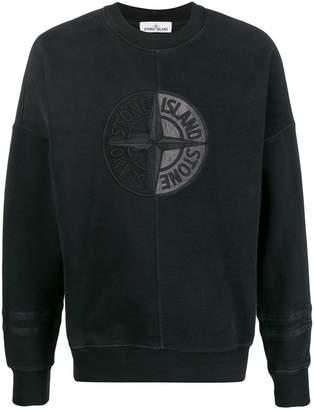 compass badge logo sweatshirt