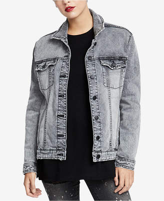 Rachel Roy Denim Trucker Jacket