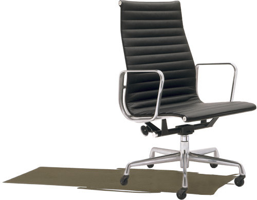 Herman Miller® eames aluminum group - executive chair