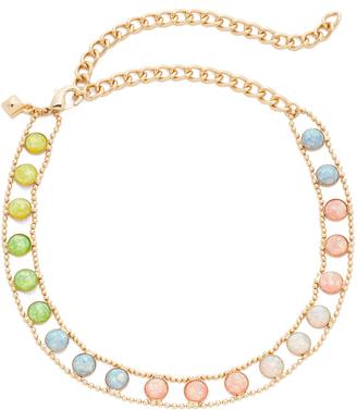 Rebecca Minkoff Illusions Choker Necklace $78 thestylecure.com