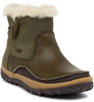 Merrell Tremblant Faux Fur Trimmed Pull-On Waterproof Boot