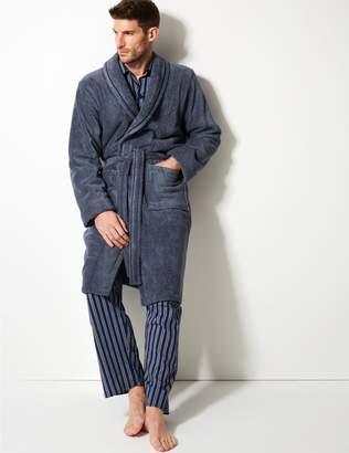 Marks and Spencer Super Soft Cotton Towelling Gown