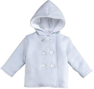 Kissy Kissy Classic Jacquard Padded Jacket, Size 3-18 Months