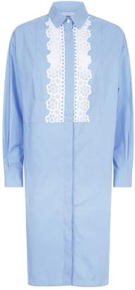Sandro Lace Shirt Dress