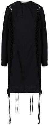 Damir Doma lace-up shirt dress
