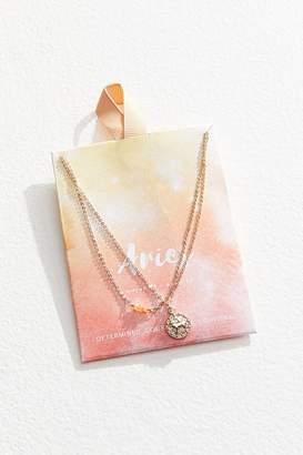 Urban Outfitters Zodiac Mini Pendant Necklace Set