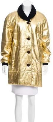 Saint Laurent Vintage Leather Coat