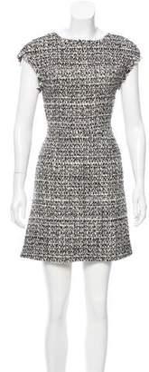 Alice + Olivia Wool Mini Dress