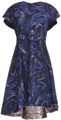 Ellery Heros paisley-jacquard dress