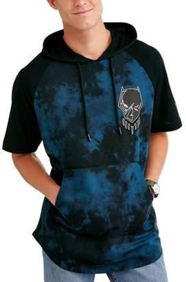 License Black Panther Men's Short Sleeve Hooded Raglan Tee
