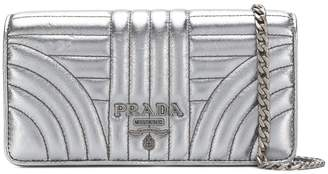 Prada logo quilted bag