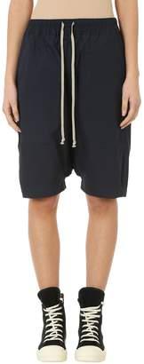 Drkshdw Blue Cotton Pods Shorts