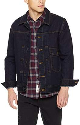 Co Quality Durables Regular Fit Denim Jacket Single Flap Pocket XX-Large