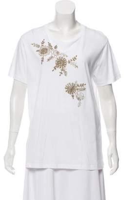 Stella McCartney Embellished Short Sleeve T-Shirt