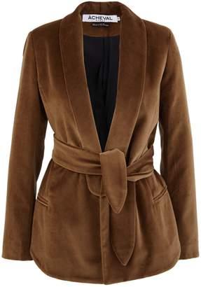 Etro A Cheval Pampa velvet jacket