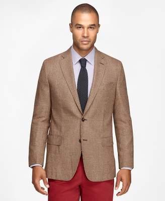 Brooks Brothers Fitzgerald Fit Large Plaid Sport Coat