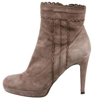 LK Bennett Suede Ankle Boots
