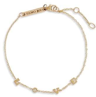 Chicco Zoe Tiny Diamond Love Station Bracelet