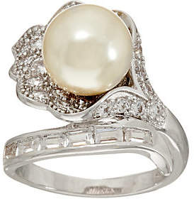 Grace Kelly Collection Simulated PearlFlower Ring