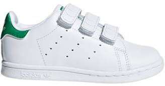 adidas Kids' Stan Smith Classic Grip-Strap Sneakers, Baby/Toddler