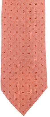 Hermes Silk Jacquard Tie