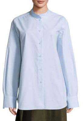 Sara Lanzi Oversized Cotton Shirt