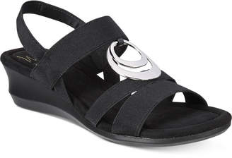 Impo Geanna Wedge Sandals $59 thestylecure.com
