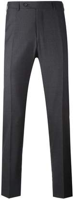 Canali straight leg trousers