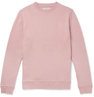 Oliver Spencer Loungewear Harris Cotton-Jersey Sweatshirt