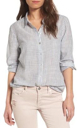Women's Ag Nola Cotton Shirt $168 thestylecure.com