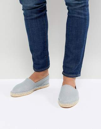 Asos Design DESIGN Espadrilles In Grey Mesh