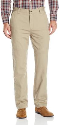 Woolrich Men's Standard Alderglen Flannel-Lined Chino