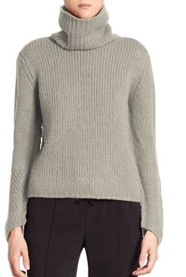 Brochu Walker Bloom Wool Turtleneck Pullover $398 thestylecure.com