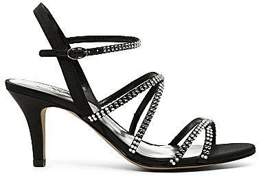 JCPenney Worthington® Glam Rhinestone Strappy Sandals