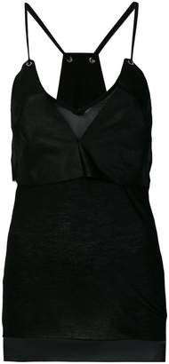 Ilaria Nistri high low tank top