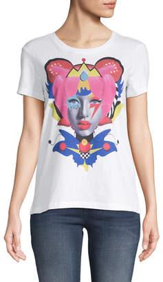 Armani Exchange Queen Graphic Print T-Shirt
