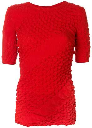 Kenzo textured knit top