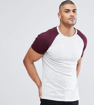 Brave Soul TALL Raglan T-Shirt