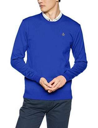 Munsingwear (マンシングウェア) - [マンシングウェア] セーター MGMMGL01 メンズ ブルー 日本 M (日本サイズM相当)