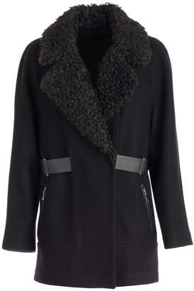 Emporio Armani Fur Collar Jacket