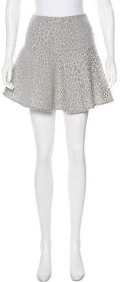 Tibi Flared Mini Skirt