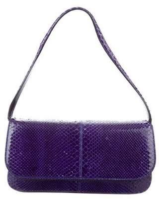 Dolce & Gabbana Small Snakeskin Shoulder Bag