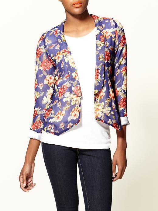 Pim + Larkin Floral Blazer