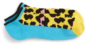 Happy Socks Leopard Low Cut Socks