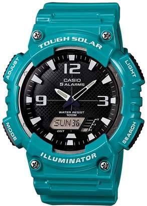 Casio Men's Tough Solar Illuminator Analog & Digital Watch - AQS810WC-3AVCFK